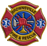 Brownsville Fire & Rescue Badge